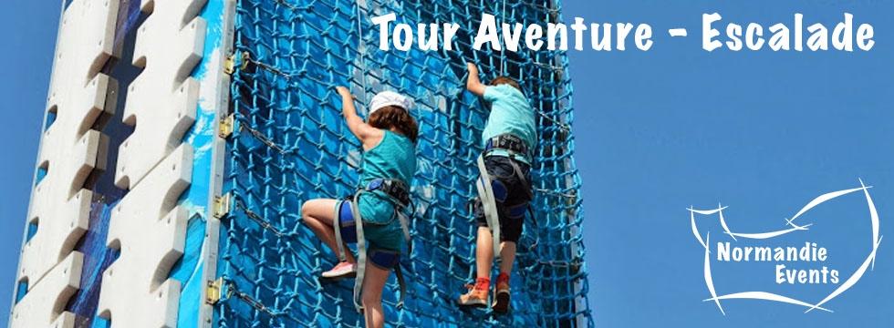 Accueil Tour Aventure - Escalade