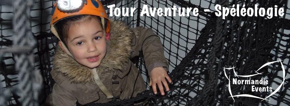 Tour Aventure - Spéléologie